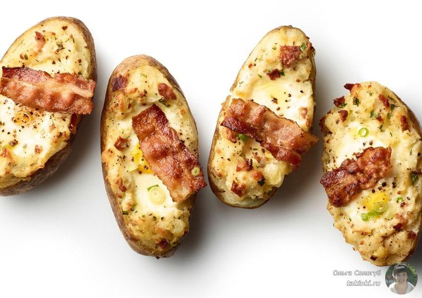 картошка в микроволновке в пакете за 5 минут рецепт