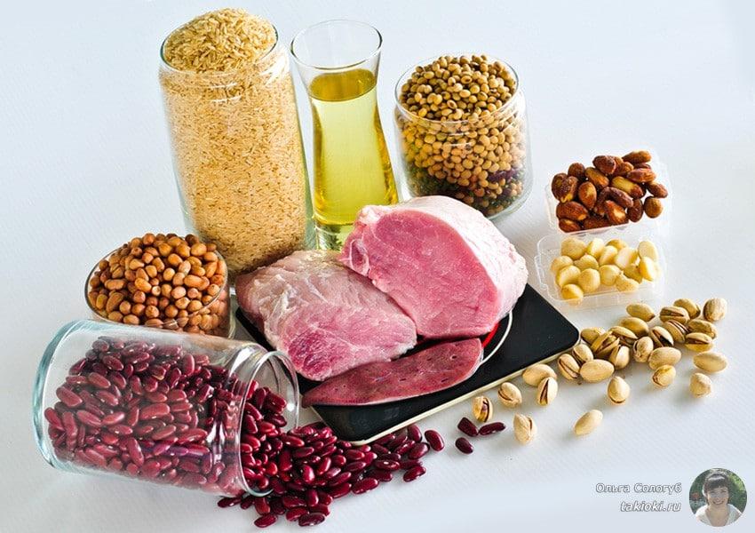 в каких продуктах содержится витамин b1