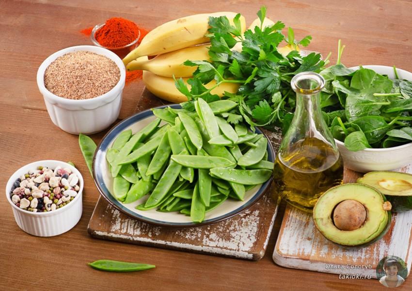 в каких продуктах содержится витамин к в большом количестве