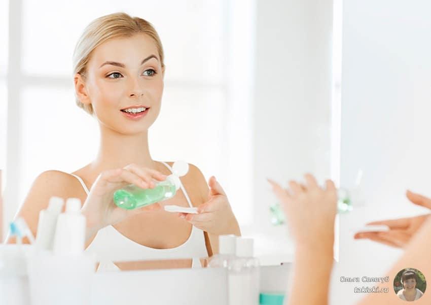 как правильно пользоваться мицелярной водой для снятия макияжа