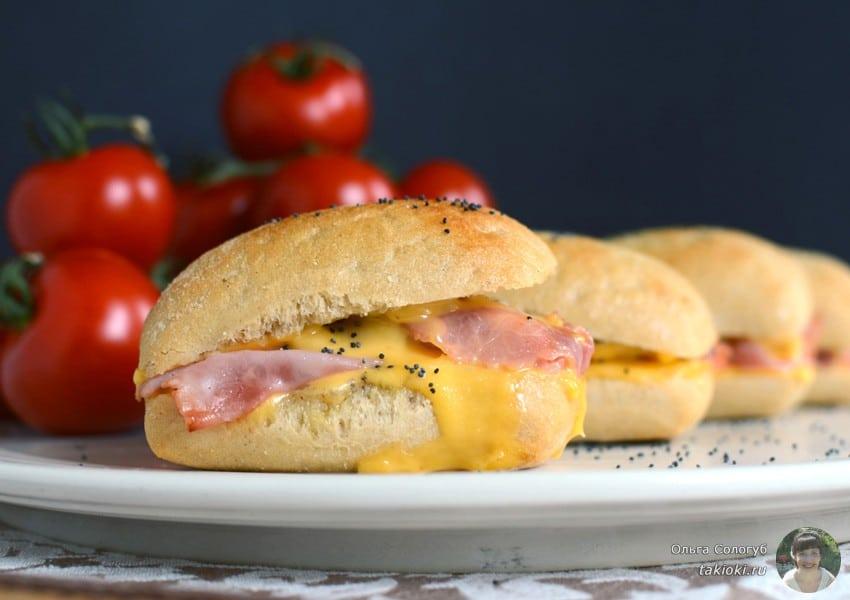 как сделать бутерброды в микроволновке