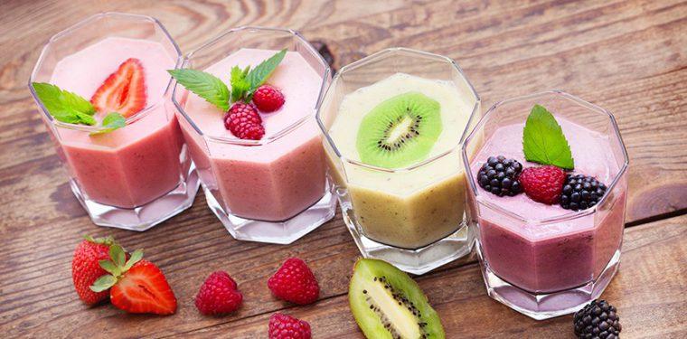 4 рецепта коктейлей, с высоким содержанием белка