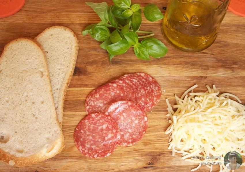 горячие бутерброды в микроволновке рецепты с фото