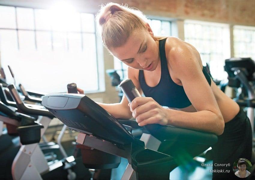 эффективная жиросжигающая тренировка на эллиптическом тренажере
