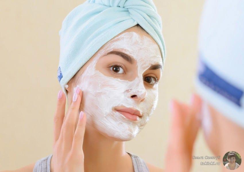 какие маски делать после чистки и после пилинга