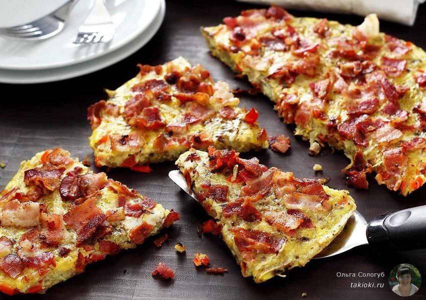 быстрая пицца на батоне и на лаваше