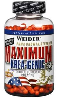 Моногидрат креатина Weider Maximum Krea-Genic (240капс)