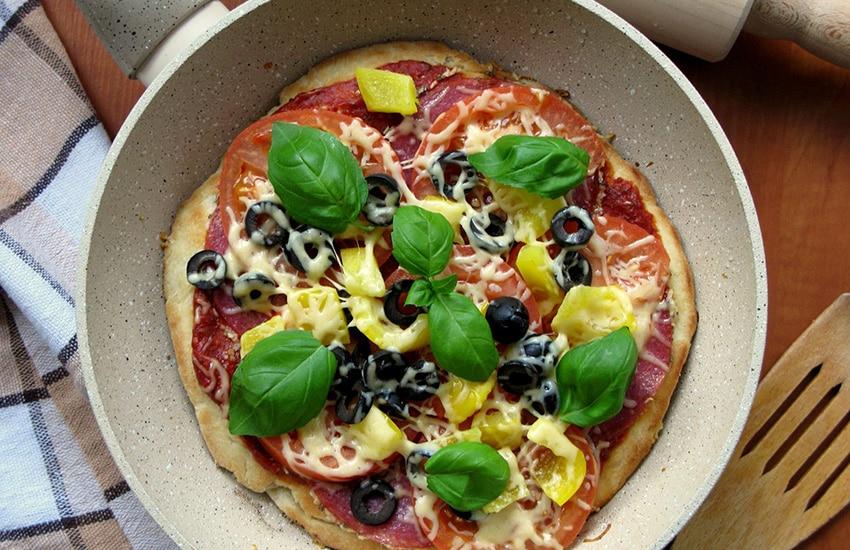 как сделать пиццу за 10 минут рецепт