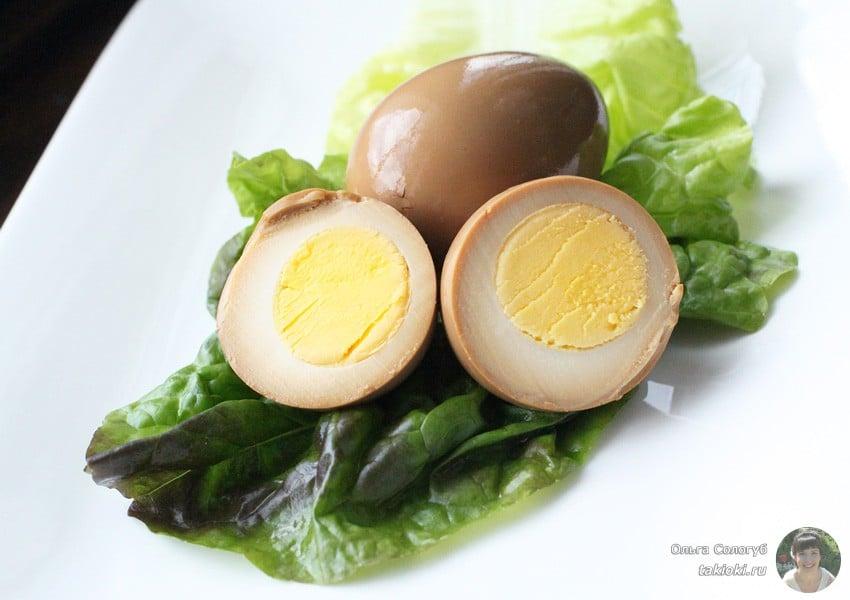 яйца в маринаде без уксуса