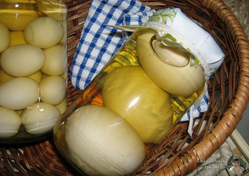 маринованные яйца вкусно ли это