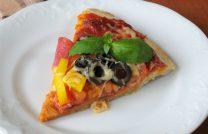 Пошаговый рецепт с фото как сделать пиццу на сковороде всего за 10 минут