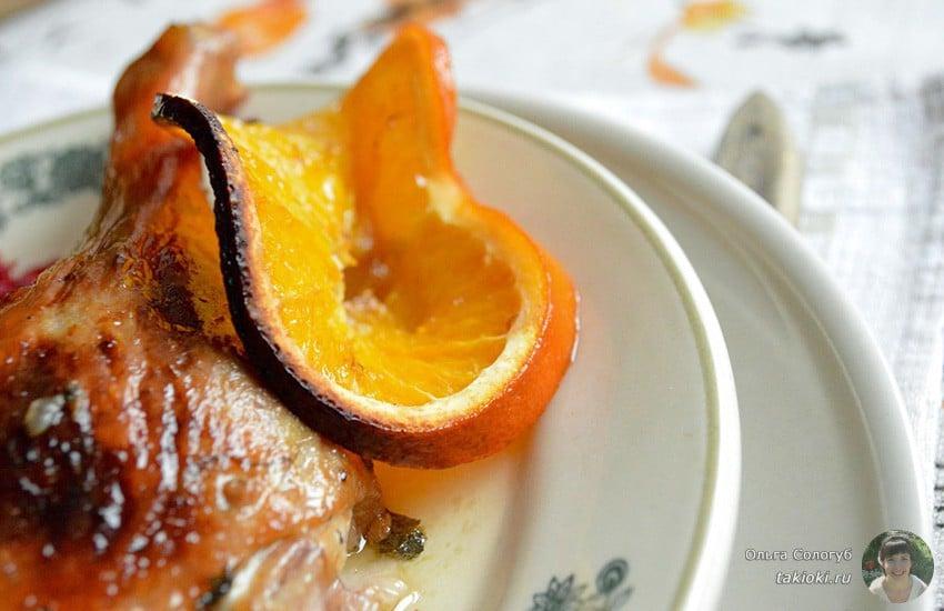 Как приготовить курицу в апельсиновом маринаде в духовке – подробный рецепт с фото