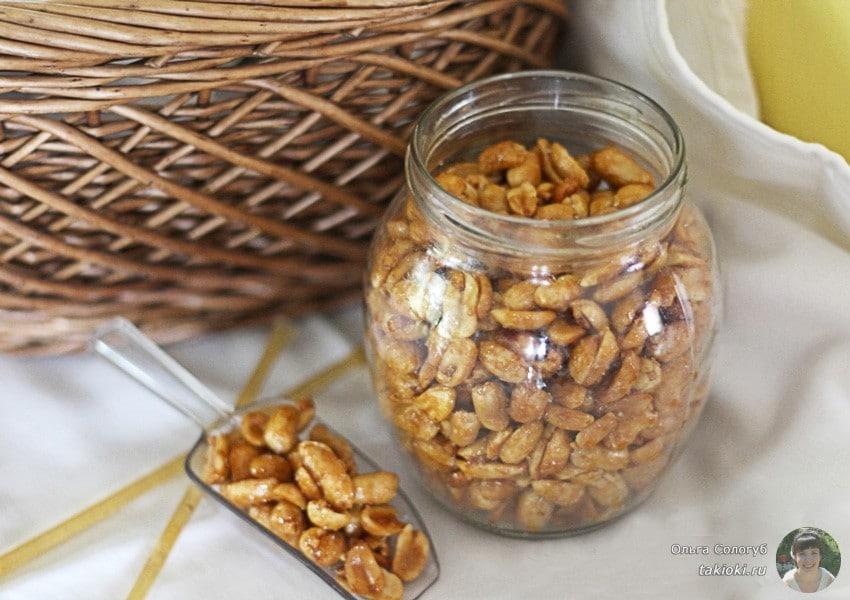 как быстро сделать арахис с солью к пиву