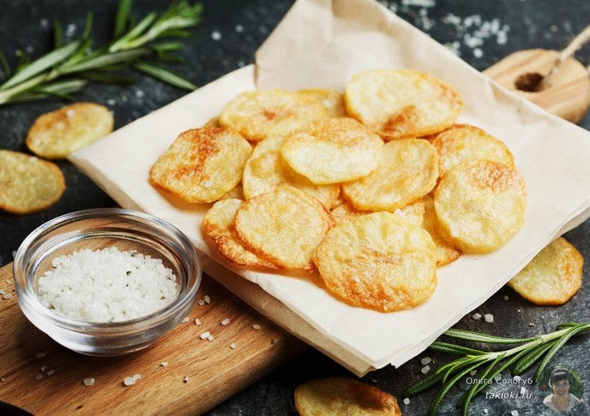 как приготовить картофельные чипсы в микроволновке в домашних условиях рецепт