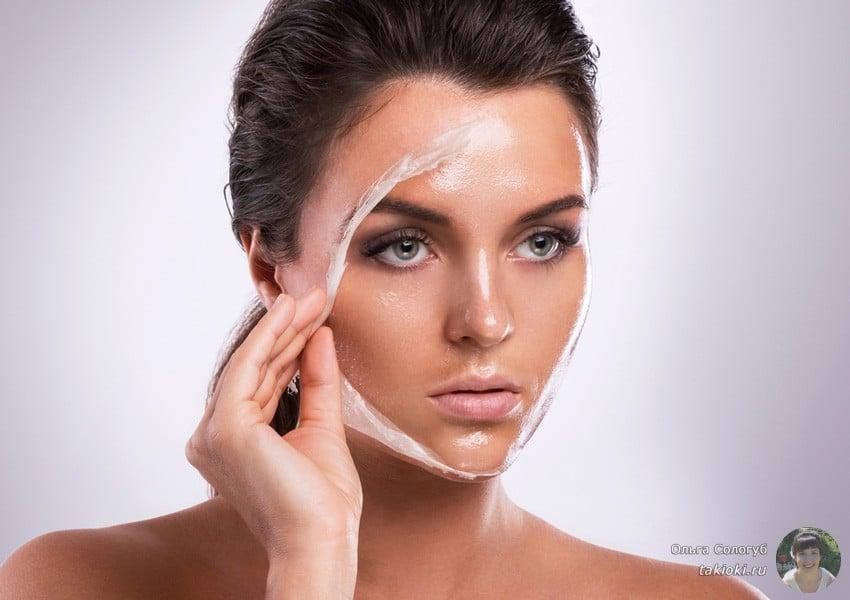 как сделать маску для лица и шеи с подтягивающим эффектом в домашних условиях