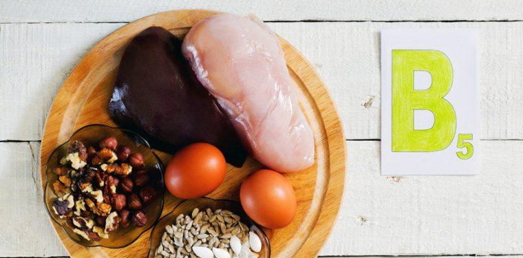 Для чего нужен витамин В5 (пантотеновая кислота) и в каких продуктах его содержится больше всего