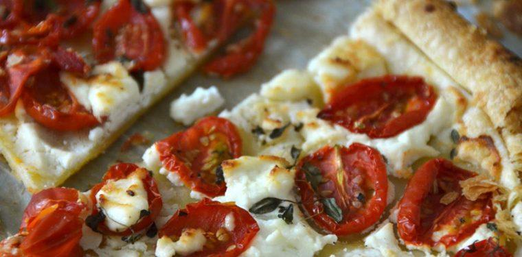 Пошаговый рецепт приготовления пиццы из слоеного теста в духовке с фото
