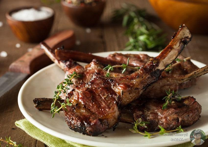 маринад для говяжьих ребер с медом и с соевым соусом