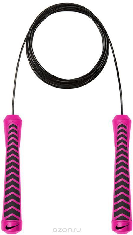 "Скакалка Nike ""Intensity Speed Rope"", цвет: розовый, черный"