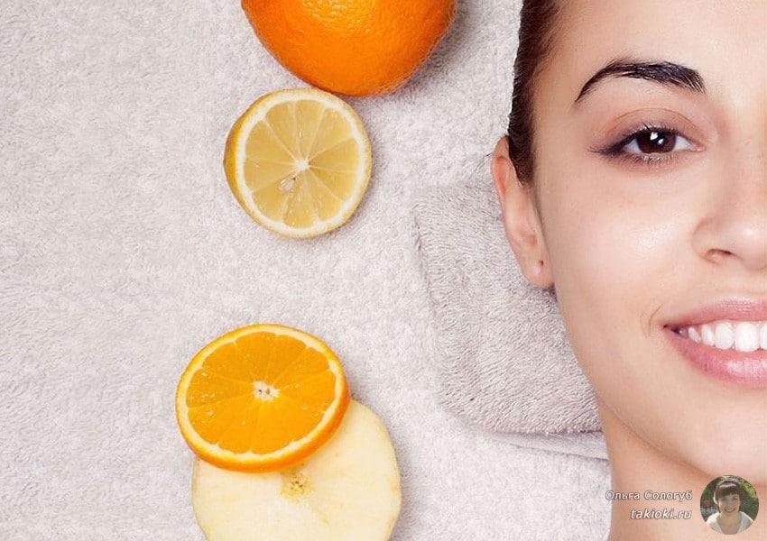 как использовать жидкий витамин с в ампулах для кожи