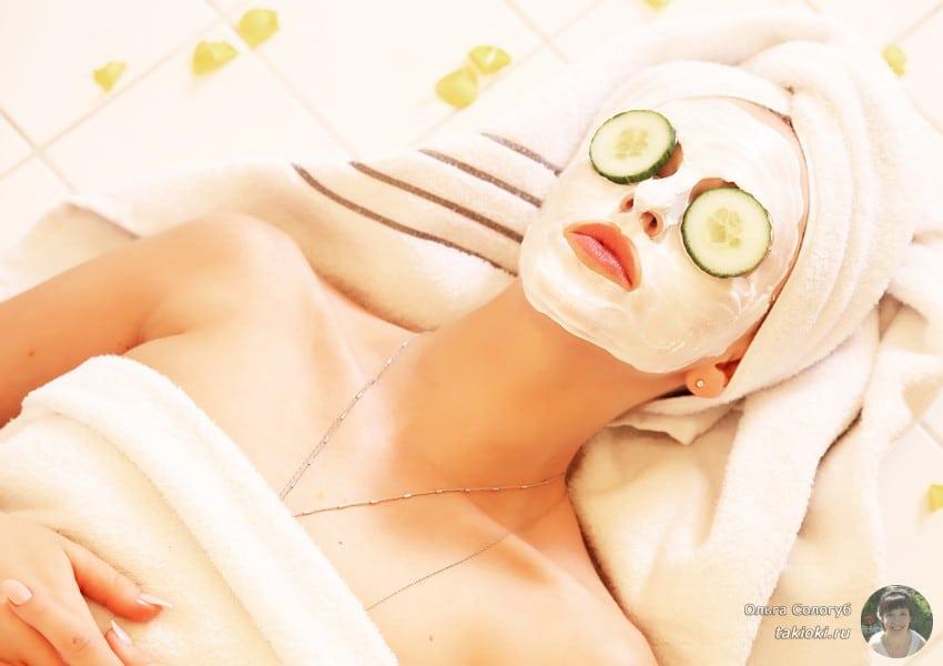 маска с отбеливающим эффектом для выравнивания цвета лица