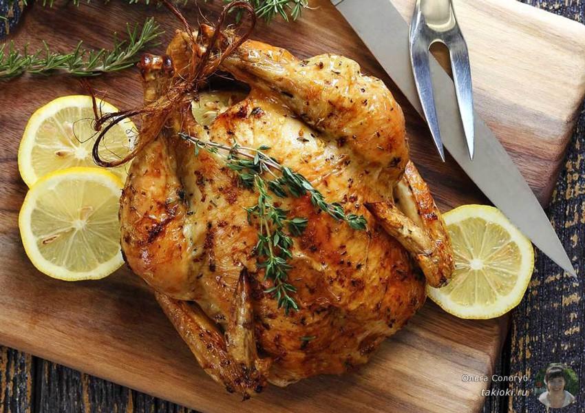 вкусный медовый маринад для запекания целой курицы в духовке рецепты с фото