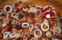 Рецепт приготовления невероятно вкусного шашлыка из свинины с гранатом и аджикой