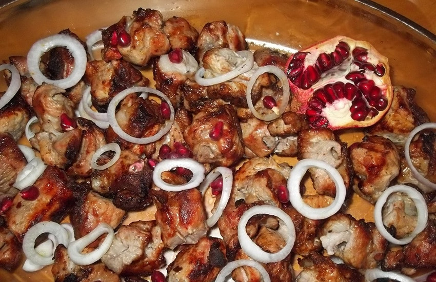 рецепт маринованной свинины для барбекю