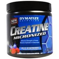 Dymatize Nutrition, Креатин микронизированный, синяя малина, 10,6 унций (300 г)