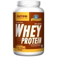 Jarrow Formulas, 100% Натуральный сывороточный протеин со вкусом шоколада, 32 унции (908 г) порошок