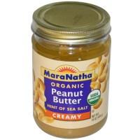 MaraNatha, Органическое арахисовое масло, сливочное, 16 унций (454 г)