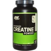 Optimum Nutrition, Креатин на форме тонкодисперсного неароматизированного порошка, 0000 мг, 00,5 унции (300 г)