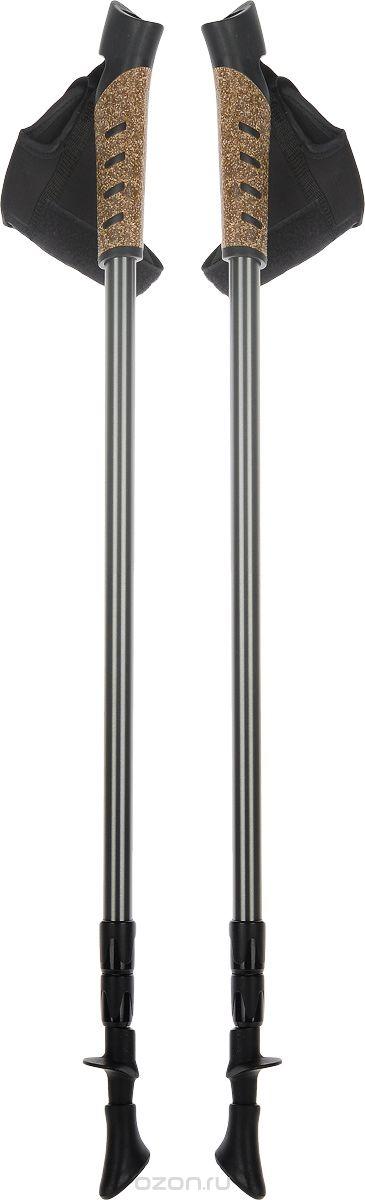 Палки для скандинавской ходьбы, телескопические, длина 67-140 см, 2 шт. FT133