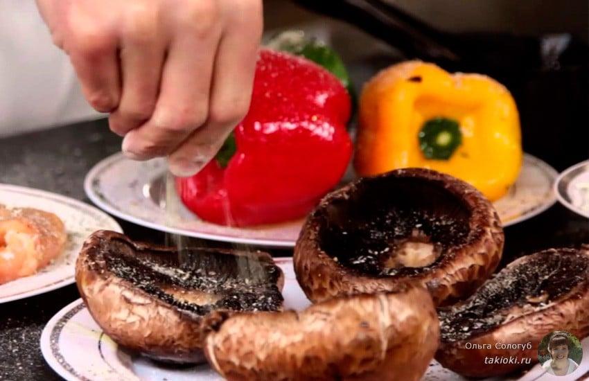 Рецепт маринованные шампиньоны с луком