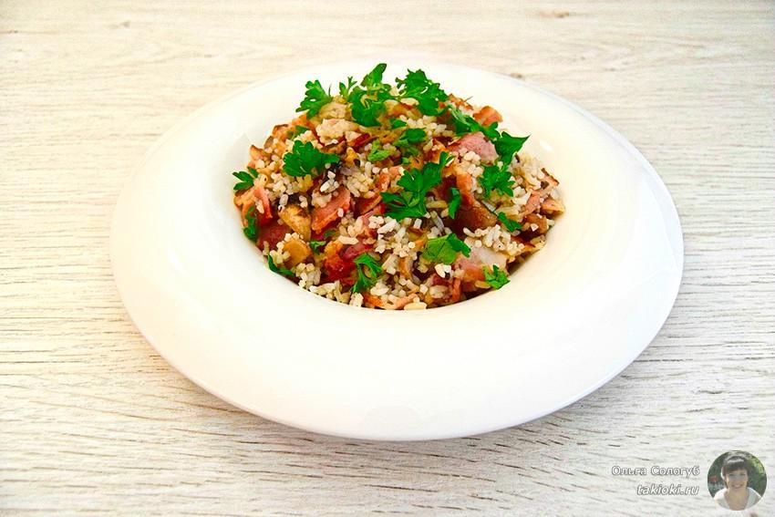 Готовим салат с крабовыми палочками и грибами быстро