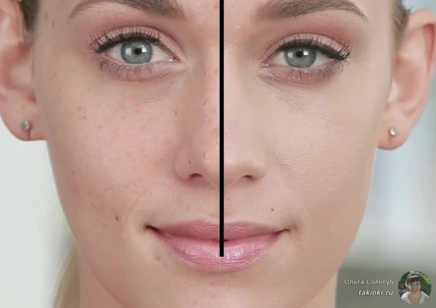 консилер для лица что это фото до и после