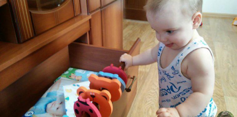 Как я решила защитить от сынули Антона вещи в шкафах :)