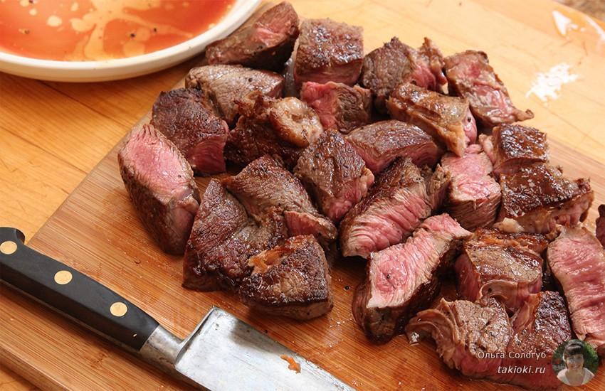 мясо для жарки на сковороде