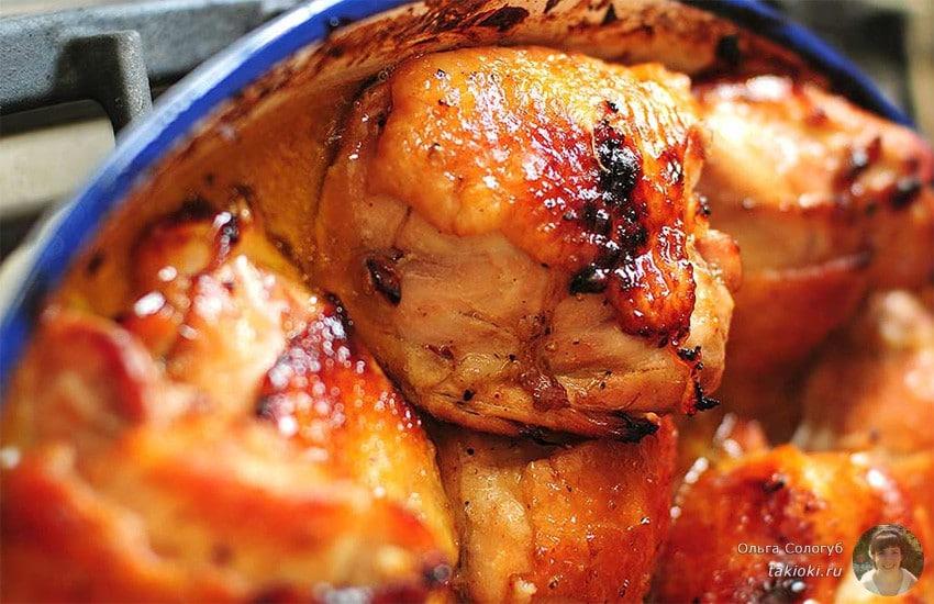 куриные окорочка с медом