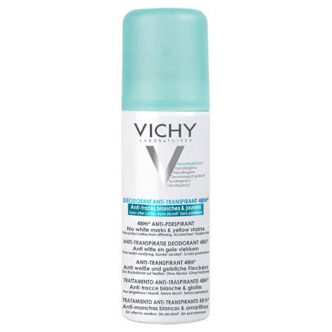 Дезодорант-аэрозоль 48ч Vichy Deodorants против белых и желтых пятен