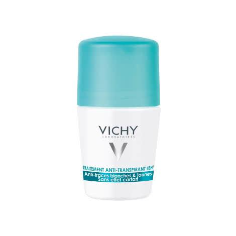 Дезодорант-антиперспирант 48 ч шариковый Vichy Deodorants против белых и желтых пятен