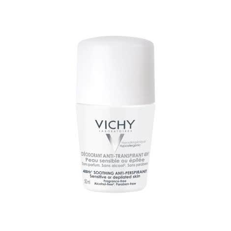 Дезодорант-шарик 48 ч Vichy Deodorants для чувствительной кожи