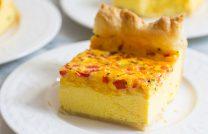 Как к завтраку приготовить оригинальный омлет на слоеном тесте в духовке – пошаговый рецепт