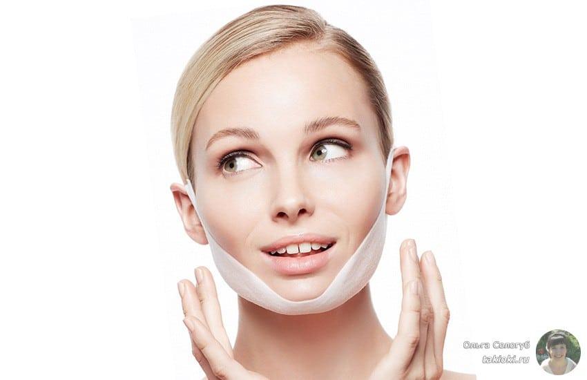 питательная маска с коллагеном