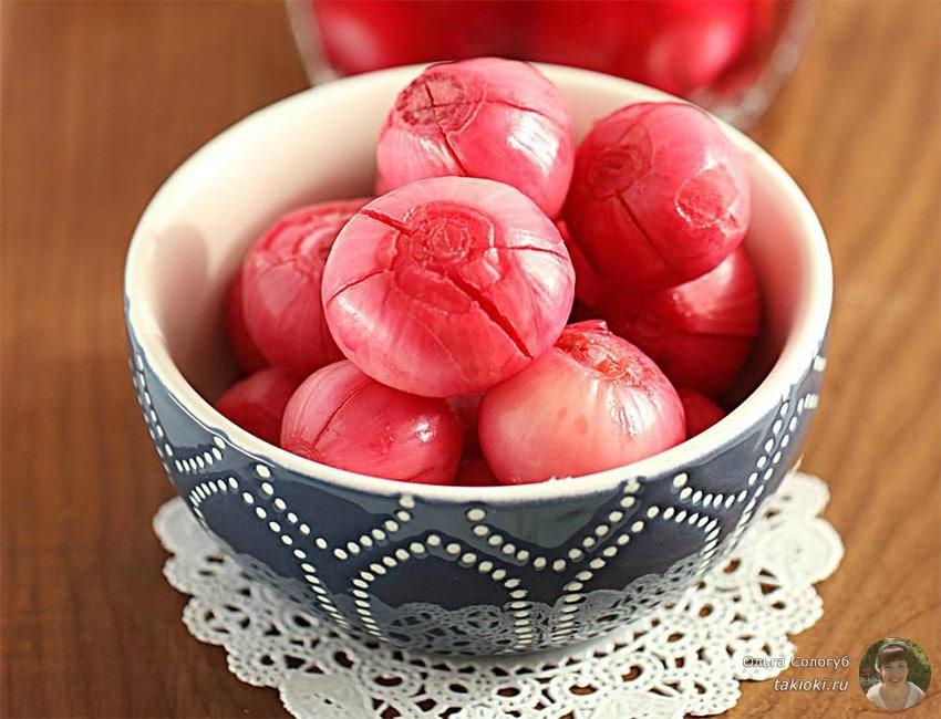 рецепт маринованного лука по-азиатски