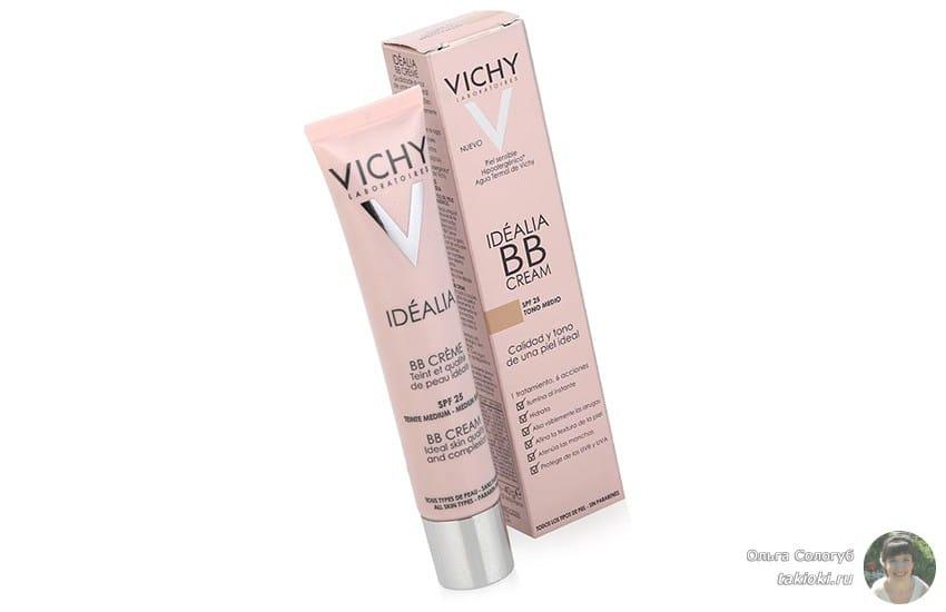 крем Vichy Idealia для контура глаз