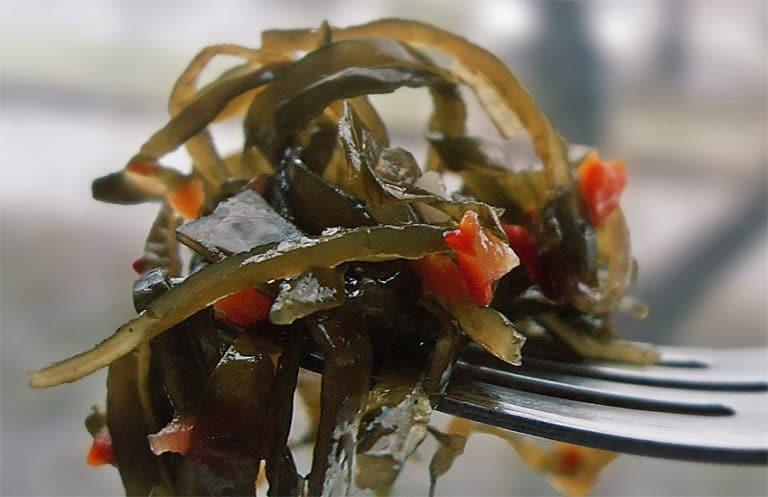 морская капуста маринованная польза