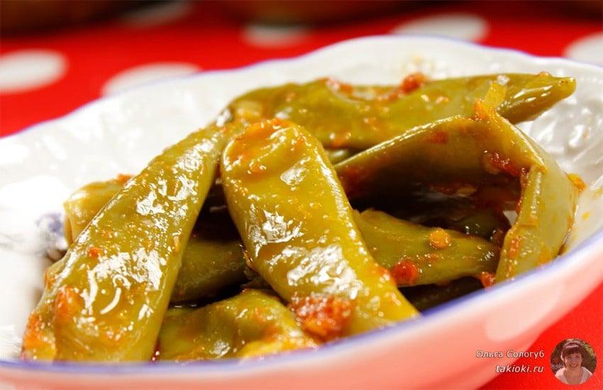 квашенный по-армянски зеленый стручковый перец