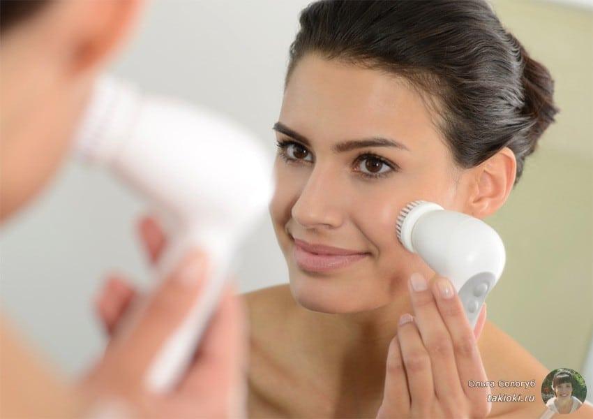 щетка для очищения кожи лица