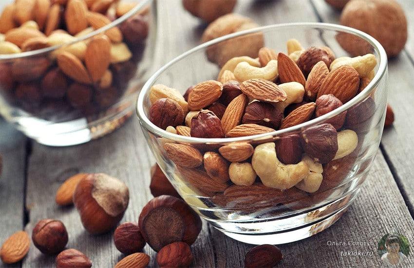 семена и орехи способствуют похудению